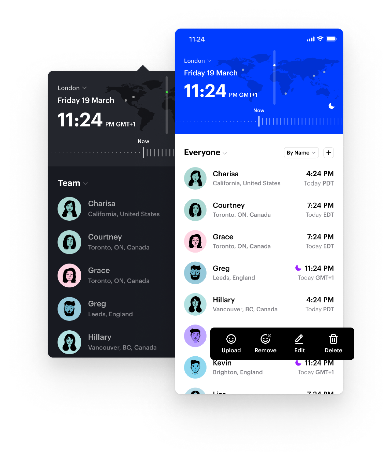 Time Zone Pro application